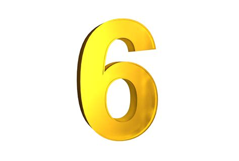 Number 6 Png Images Free Download, 6 Png