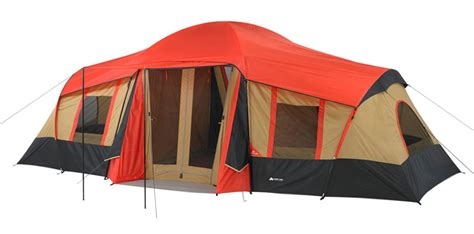 3 room cabin tent review of ozark trail outdoor equipment cing gear