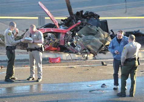 Porsche blames driver in fatal Paul Walker car crash - NY