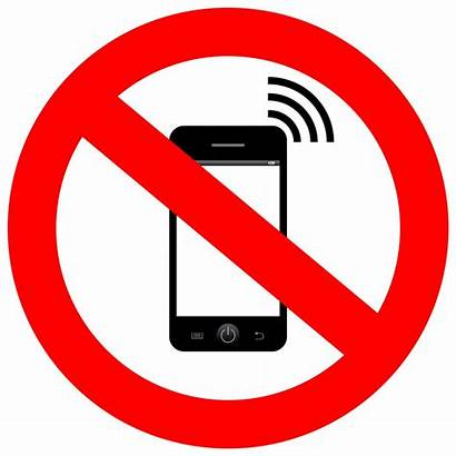 Phone Cell Clipart Switch Mobile Silence Sign