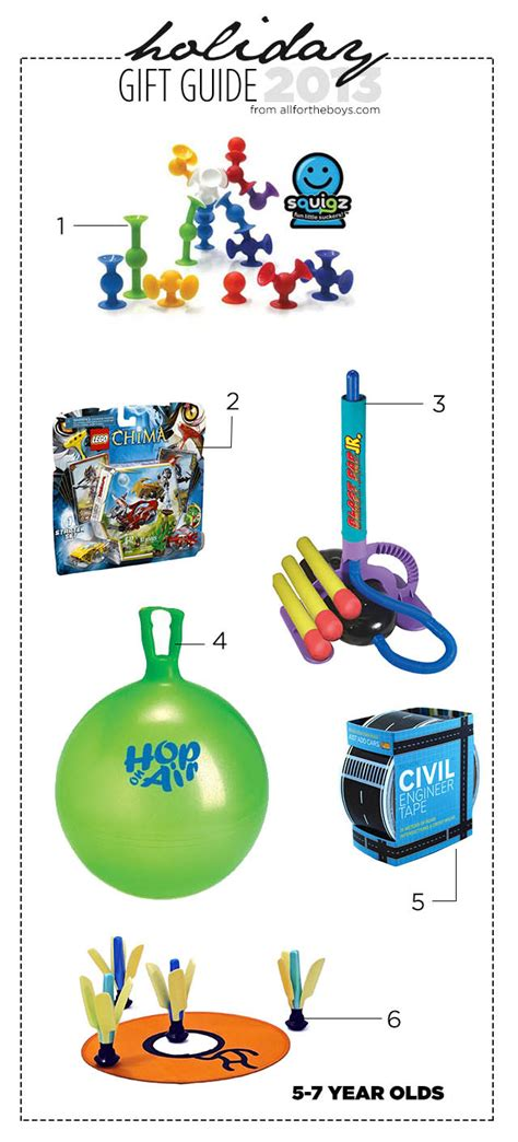 7 year old gift guide 2013 gift guide 5 7 year olds all for the boys