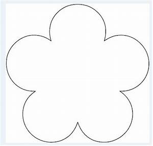 flower pattern template clipart best With free flower templates to print
