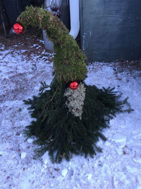 evergreen gnomes easy diy christmas yard decorations