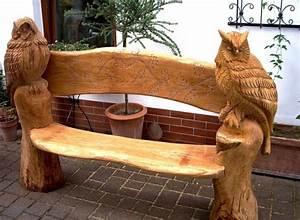 Holzbank Garten Rustikal : einfache holzbank selber bauen 50 coole garten ideen f r gartenbank selber bauen freshouse ~ Orissabook.com Haus und Dekorationen