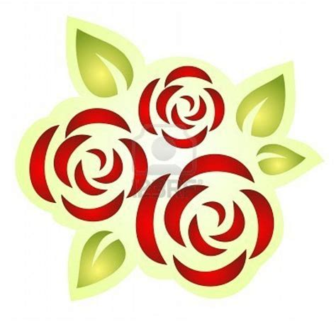 rose stencil  templatespatterns pinterest