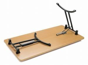 Pied De Table Pliant : table pieds pliants aux docks du bureau buro espace ~ Melissatoandfro.com Idées de Décoration