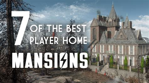 7 Of The Best Player Home Mansions For Fallout 4 Fallout