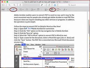 how to add text to pdf on mac with without preview With pdf document add text