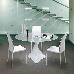 Table Ronde En Marbre : la defense 8045 table ronde tonin casa en marbre agglom r plateau en verre en diff rentes ~ Mglfilm.com Idées de Décoration