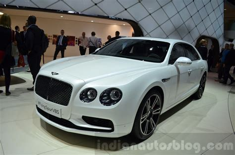 bentley geneva bentley flying spur v8 s geneva motor show live