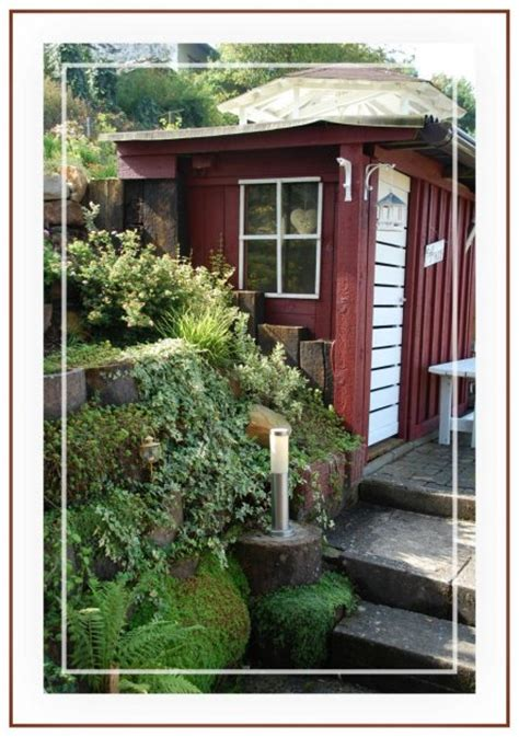 Garten 'gartenhaus  Schuppen'  So Wohnen Wir