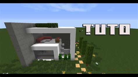 [tuto] Petite Maison Moderne Sur Minecraft Youtube