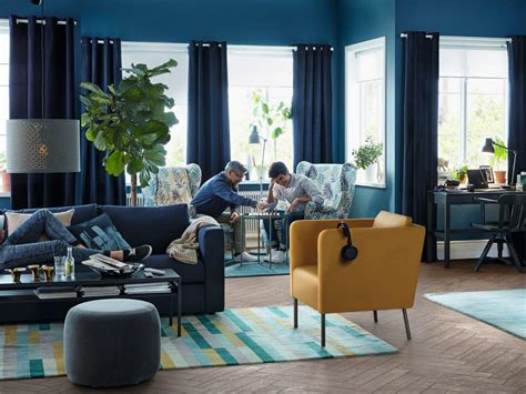 c est une maison bleu une maison 224 la d 233 co bleu marine imagin 233 e par ikea joli place