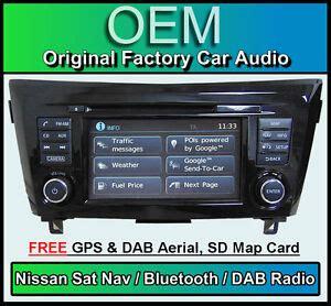 Nissan Trail Sat Nav Car Stereo Dab Radio Lcn