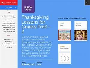The First Thanksgiving Lesson Plan For Pre-k
