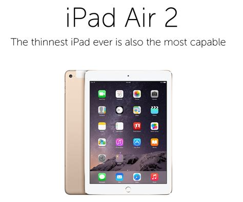 Buy Apple Ipad Air 2 32gb Wificellular Tablet Gold