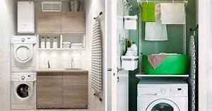 Exemple Petite Salle De Bain : exemple petite salle de bain 6 petite buanderie les ~ Dailycaller-alerts.com Idées de Décoration