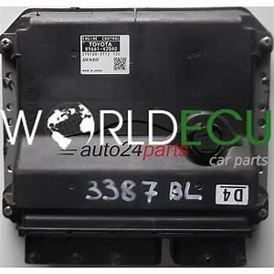Ecu Engine Controller Toyota Rav4 2 0 D4 89661