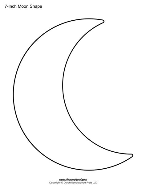 moon template moon outline images search