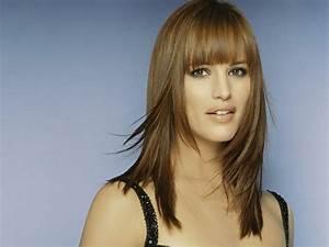 Coupe Cheveux Avec Frange : coupe de cheveux avec frange coupes de cheveux ~ Nature-et-papiers.com Idées de Décoration