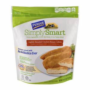Perdue Simply Smart Lightly Breaded Chicken Breast Cutlets ...