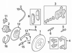 Chevrolet Impala Spring  Parking  Return  Brake  Lever  Disc Brakes  W  Abs