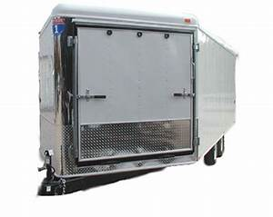 Enclosed Snowmobile Trailers From Johnson Trailer Co In Colfax  Wisconsin