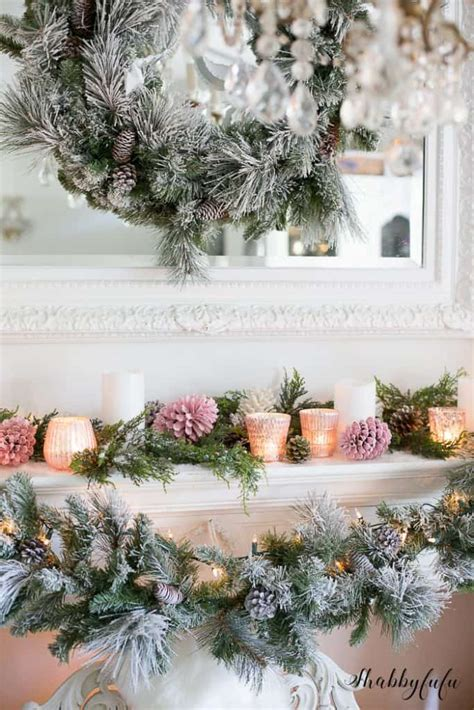 pink christmas tree decorations  pink holiday decor