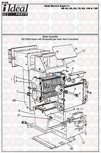 Ideal Mexico Super 2 Rs 60 Appliance Diagram  Boiler