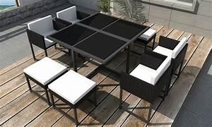 Table Pour Terrasse : table manger pour jardin ou terrasse groupon ~ Teatrodelosmanantiales.com Idées de Décoration