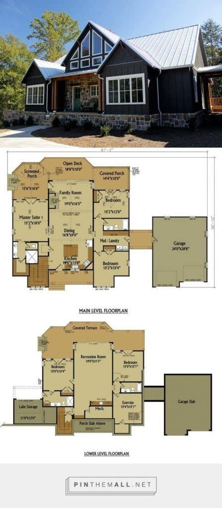 elegant rustic country home floor plans  home plans