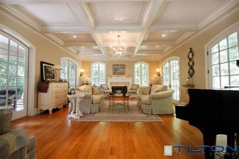 tilton coffered ceilings inc 45 enviable living room designs by featured design