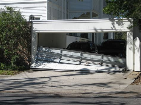 insurance pay  garage door damage