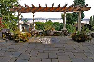 20, Lovely, Ideas, For, Landscaping, With, Pavers
