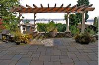 lovely patio design with pavers ideas 20 Lovely Ideas for Landscaping with Pavers | Home Design Lover