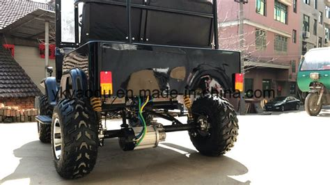 China Disc Brake Auto Atv Adult Jeep With Chain Drive