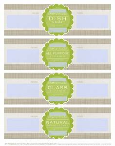 diy homemade clean free label printables and recipes With homemade soap labels free