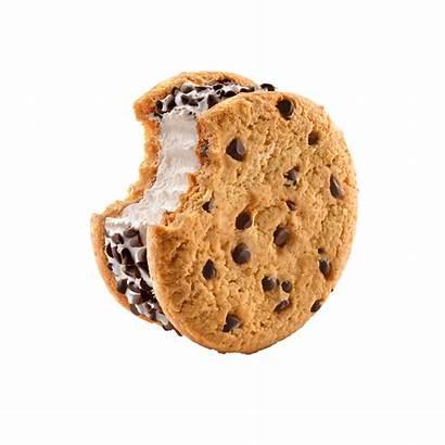 Sandwich Chocolate Chip Cookie Ice Cream Vanilla
