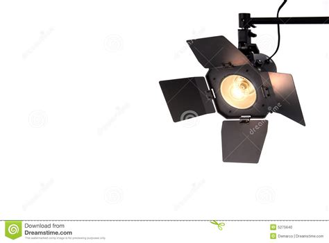 studio spot light stock photo image