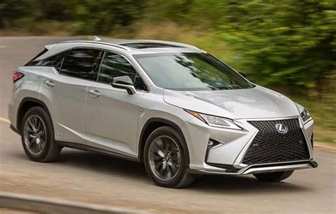 lexus rx   sport release date colors redesign