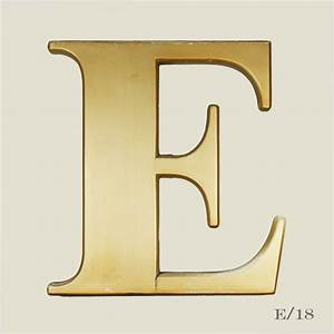 vintage gold letter e vintage matters With gold initial letters