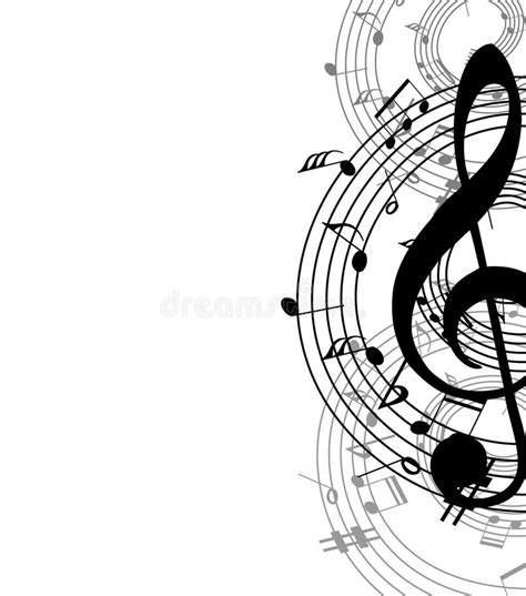 Background Music Stock Vector Illustration Of Sound