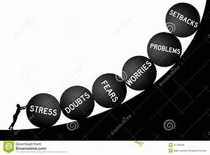 Life problems stock illustration. Illustration of economy ...