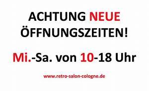 öffnungszeiten Bauhaus Köln : neuzug nge archive retro salon cologne ~ Eleganceandgraceweddings.com Haus und Dekorationen
