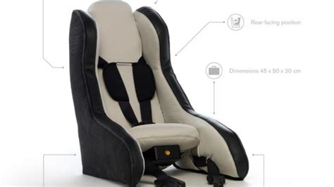 inflatable car seat  volvo   child safety