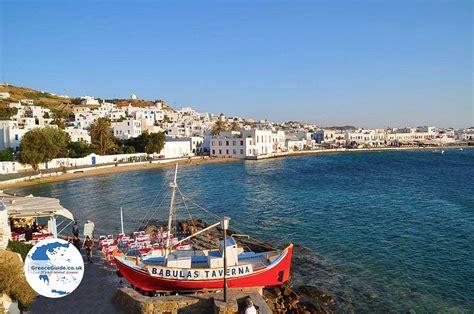 Mykonos Town Mykonos Holidays In Mykonos Town Greece Guide