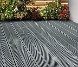 Lame De Terrasse Composite : lame de terrasse composite grise oder l 2 20 m x l 14 ~ Edinachiropracticcenter.com Idées de Décoration