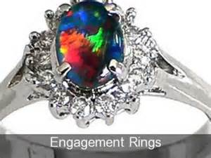 and opal engagement rings black opal jewelry design sterling silver black opal rings