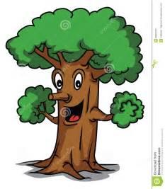 Happy Tree Cartoon