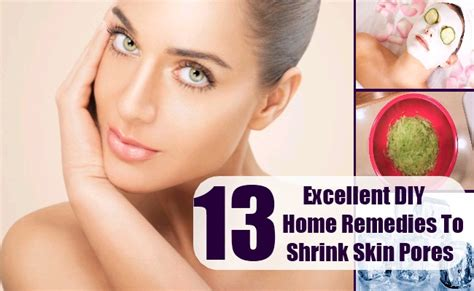 13 Excellent Diy Home Remedies To Shrink Skin Pores  Lady